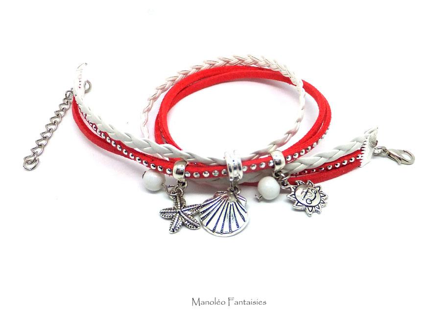 Astuce pour mettre mon bracelet PYLA seule blog manoleo fantaisies bijoux