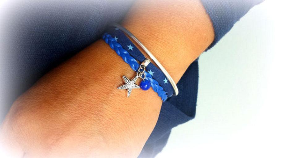 bracelet-mini-manchette-wai-bleu-plage-etoile-mer-vacances-etoiles