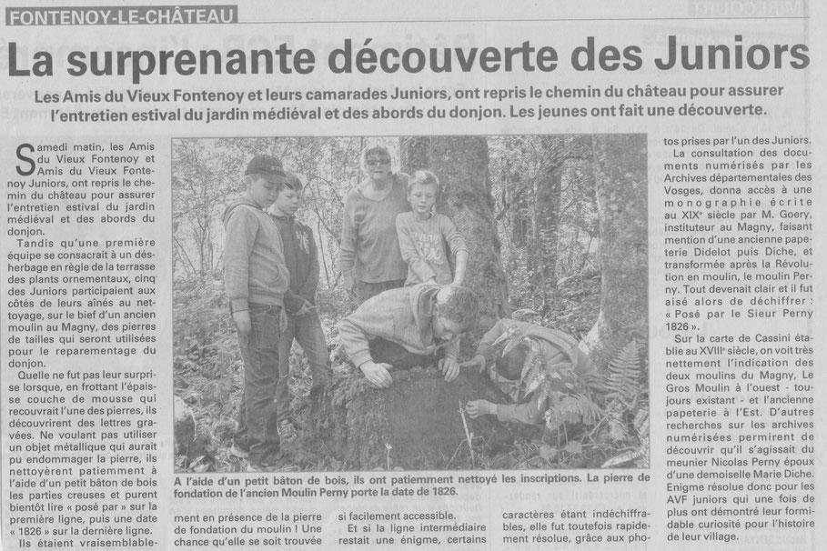 Vosges Matin - Mai 2016