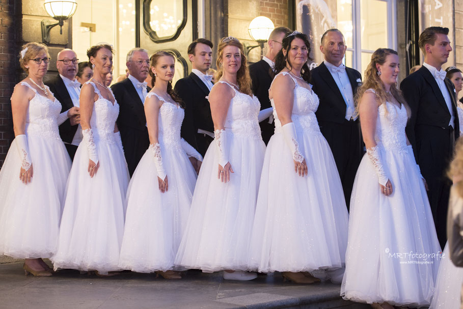 Debutanten bij concert André Rieu Vrijthof, Maastricht
