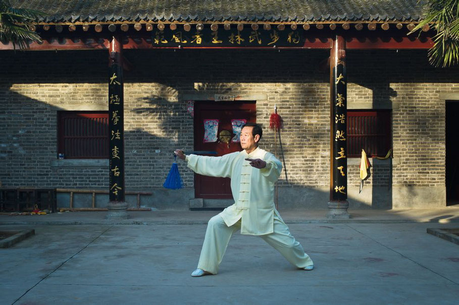 Wang Xian à l'épée