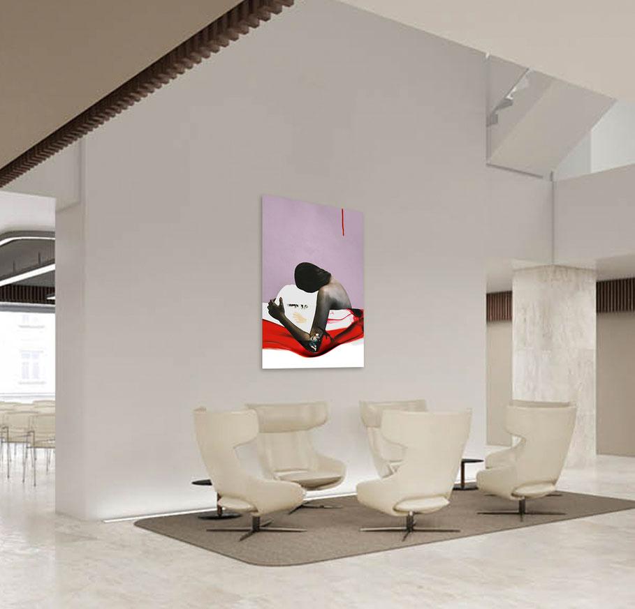 acryl-bilder-gemaelde-hochformat-modern-style-politische-kunst-bilder-anwaltskanzlei-lost-war-child