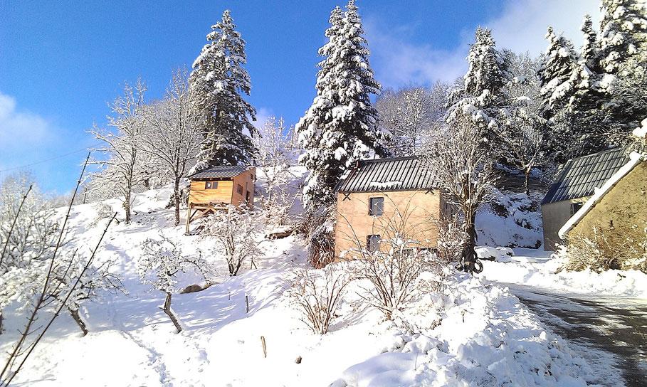Le gite est ouvert cet hiver