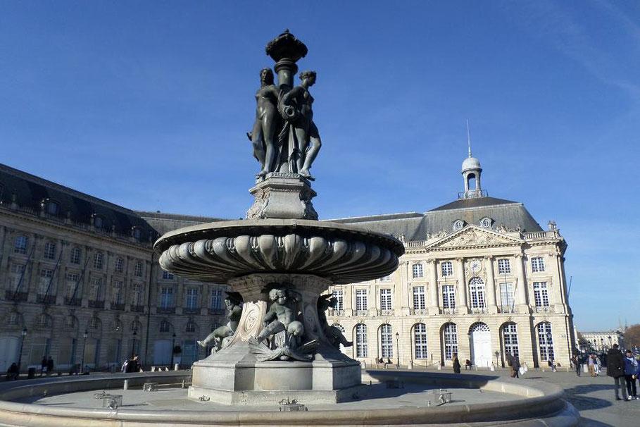 """La fontaine des """"Trois Graces"""""""