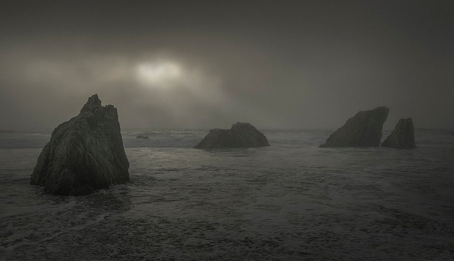 "Bild ""sea III"" 2013 - Ultrachrome K3 Pigmentdruck - Auflage 5 + 2 E.A. - 110 x 190 cm Marc Junghans Fotografie"