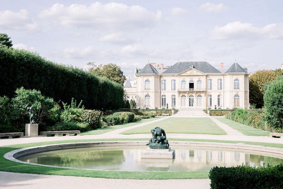 chateau wedding in Paris