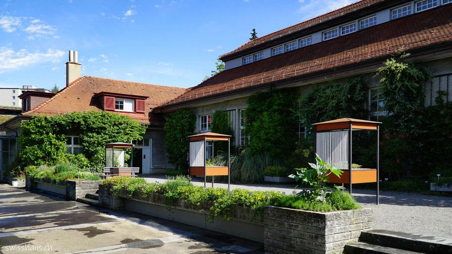 Parkanlage im Botanischen Garten St.Gallen