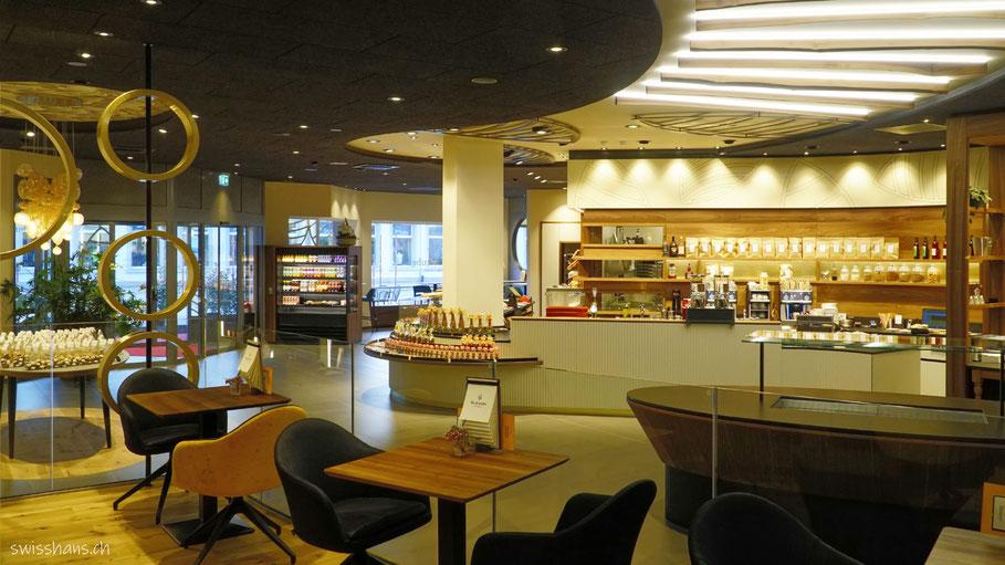 Innenansicht Café Backstube Widnau