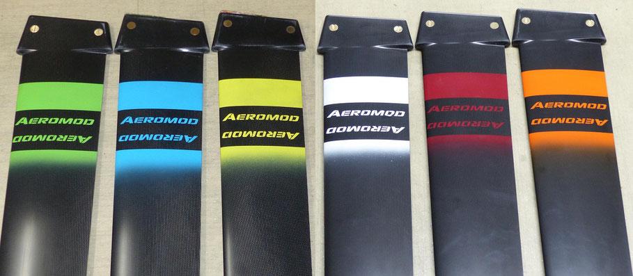 les 6 couleurs du windfoil aeromod v2