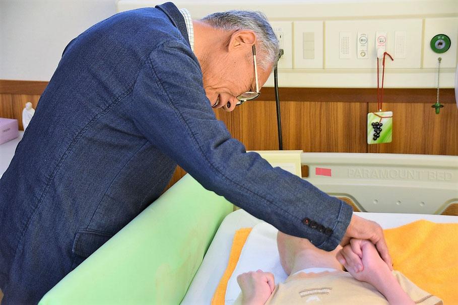 2015年7月 八重子さんの転入会式が行われた時のひとこま。生きてる瞬間が記録されたなぁと感謝。