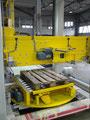 Lage invoer palletiser met geintegreerde  draaitafel