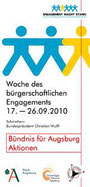 Freiwilligen-Zentrum Augsburg - Woche des bürgerschaftlichen Engagements 2010