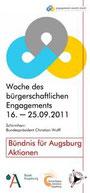 Freiwilligen-Zentrum Augsburg - Woche des bürgerschaftlichen Engagements 2011