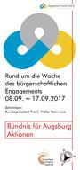 Freiwilligen-Zentrum Augsburg - Woche des bürgerschaftlichen Engagements 2015