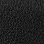 schwarz genarbt / black
