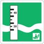 Limnimétre (échelle de niveau d'eau)