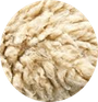 cuir finition lainée ou avec des poils