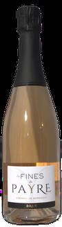 Vrémant de Bordeaux Rosé, les fines du Payre, chateau du payre, vin de bordeaux, bordeaux crémant rosé, cardan, visite du chai