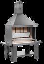 VCKT860 caminetto da esterno in acciaio verniciato