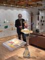 Bruno Pedrosa Studioglas in der CCAA GLASGALERIE KÖLN
