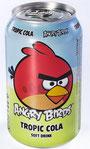 ОАО «Лидское пиво» сообщило о поступлении в продажу безалкогольного напитка Angry Birds со вкусом Tropic Cola. Производитель отметил, что выпуск продукта является совместным проектом всех компаний, вх