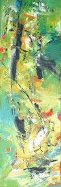 informel, abstract, bildende Kunst, grün, gelb, Erlangen, Künstlerin, expressiv, Malerei