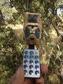 El mando no permite apagar o encender la cámara, solo programarla