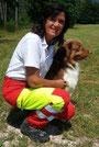 einsatzfähiges Rettungshundeteam