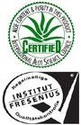 La récolte et la fabrication font l'objet de contrôles réguliers et stricts de la part de SGS Institut FRESENIUS et de l'I.A.S.C. (Comité International Scientifique pour l'Aloe Vera).