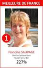Francine Elue Meilleure Animatrice de France Animatrices de moins de 2 ans, Région Grand Est
