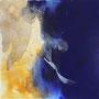Terres mêlées, peinture de Yannick Charon
