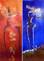 Allegria – dyptique, de Yannick Charon