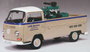 """VW T2a Pritsche Beige/White """"LKW Service"""" Schuco 450018100"""