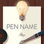 ペンネーム、ニックネーム、ハンドルネーム