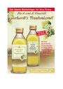 Flasche mit Traubenkernöl mit individuellen Etiketten