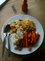 Reis, Gemüse, Mungbohnendal.