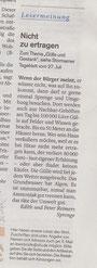 Leserbrief Sprenge 28.07.10