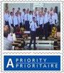 Klicke auf die Briefmarke