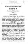 Couverture. Édouard BIOT (1803-1850) : Tchou-Chou-Ki-Nien. Annales de bambou. Tablettes chronologiques du Livre écrit sur bambou. Journal asiatique, 1841-1842.