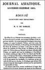 Koue-Yü, Discours des royaumes,  première partie  traduits et annotés par Charles de Harlez (1832-1899). Journal asiatique, 1893