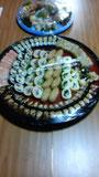 初盆・お寿司 10人前