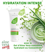L'ALOE VERA CONCENTRATE - L'hydratation maximale     Une concentration à 90% de gel pur d'Aloe vera qui submerge votre peau, hydratation intense.