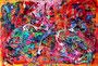 Die wundersame Welt des Ikarus_100x150 cm