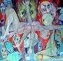 Die Göttin des Gemetzels _100x100 cm_2014