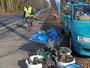 Trauriges Teilergebnis der Müllsammelaktion