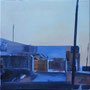 Marokko 4, 2014, Öl auf Leinwand, 30 x 30    (saled)