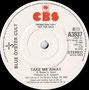 Take me Away (Radio Edit) / Take me Away - UK - Promo copy - B