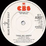 Take me Away (Radio edit) / Take me Away - UK - Promo - B