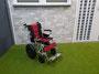 ... der Woodster 400-190, Version ohne Bugrad ...
