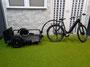 ... ein Gespann Le Camion HL-Noir mit Prophete E-Bike ...
